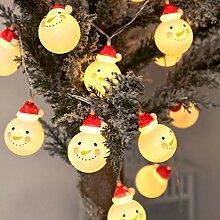 JUNMAONO 1 Satz LED Weihnachten Lichterkette