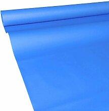 JUNOPAX 60048471 Papiertischdecke 50m x 1,00m blau