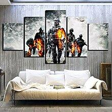 juntop Leinwandbild malerei Poster 5 Panel