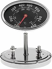 JunYe Smoker Gas Grill Lid Thermometer Gauge
