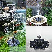 JunziWing PET Solarbrunnen Wasserpumpe 7V