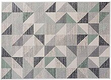Juonjee Teppich Zeit-einfache Art und Weise Decke