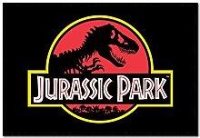 Jurassic Park Klassisches Logo Plakat Kork Pinn