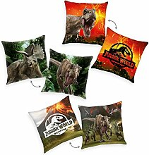 Jurassic World Dekokissen 3er Set 40x40cm