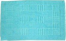 Just Contempo Badematte, 50x85cm., blau, Stück: 1