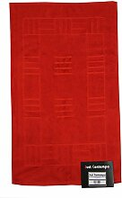 Just Contempo Badematte, 50x85cm., rot, Stück: 1