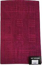 Just Contempo Badematte, 50x85cm., violett, Stück: 1