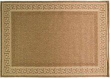 Just Contempo Flachgewebe eingefasst Teppich, beige, 120x 170cm _ P, Polypropylen, Naturfarben / Beige, 80 x 150 cm