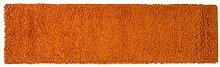 Just Contempo Zottelteppich, Beige, 120x 170cm, Orange, 60 x 230 cm