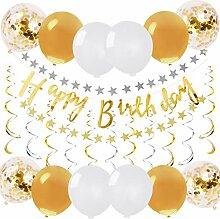 Justdolife Geburtstag Party Dekoration Kit