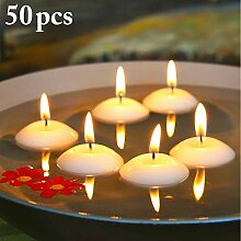 Justdolife Schwimmende Kerze Flammenlose