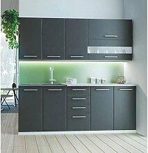 JUSThome COMO 200 Küchenzeile Küchenblock Einbauküche Länge 200 cm