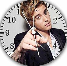 Justin Bieber Wanduhr 25,4cm Nice Geschenk und