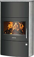 Justus 5492 23 Agero W+ Kaminofen Stahl Schwarz |