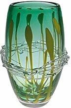JUSTyou Amlo Vase Murano Glas Handwerk Höhe 24 cm