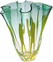 JUSTyou Elora Vase Murano Glas Handwerk Höhe 26 cm
