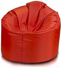 JUSTyou Futoyo Star Sitzsack Sessel Riesensitzsack Nylon Farbe: Ro
