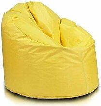 JUSTyou Futoyo Star Sitzsack Sessel Riesensitzsack Nylon Farbe: Gelb
