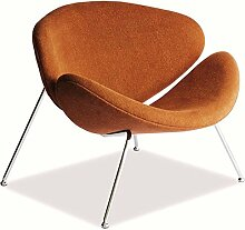 JUSTyou Major Sessel Cocktailsessel Clubsessel Orange Chrom 72x84x49 cm