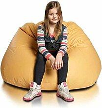 JUSTyou Maxi Sitzsack Sessel Riesensitzsack Kunstleder Farbe: Gelb