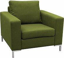 JUSTyou Point Sessel Relaxsessel Loungesessel Strukturstoff (LxHxB): 93x83x90 cm Grün
