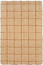 Jute & co. Boracay Teppich 100% Jute-Faser, handgefertigt 120 x 180 cm beige