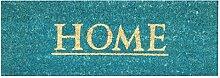 Jute & Co Home Bedruckte Fußmatte, Unterseite aus