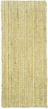 Jute & Co. Naturfaser Teppich 100% Jute 50x80 natürliche Farbe