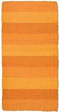 Jute Co. Naturfaser Teppich 100% Jute 50x80 orange