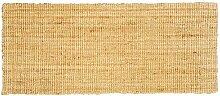 Jute & Co. Naturfaser Teppich 100% Jute 60x220