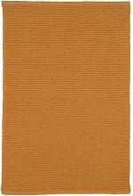 Jute & co. Teppich 100% Baumwolle orange 60x140