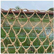 Jute-Pflanzennetz,Gartennetz Manila-Hanfseil