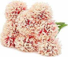 Juvale Künstliche Hortensienköpfe Brautstrauß