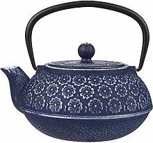 Juvale Teekanne aus Gusseisen mit Herausnehmbarem