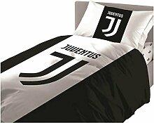Juventus Bettwäsche Einzelbett Bettbezug +