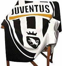 Juventus FC Juve Fleecedecke, 160x 125cm,