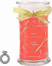 JuwelKerze Mandarine Candy by Daniela Katzenberger