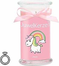 JuwelKerze Unicorn Candle - Kerze im Glas mit