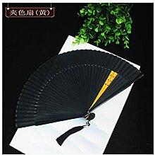 JUWOJIA Damen Ventilator Chinesischen Stil Retro