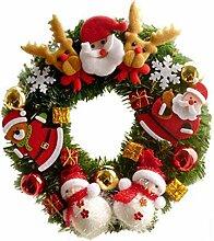 JUWOJIA Weihnachten Kranz Girlande