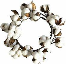 JUWOJIA Weihnachten Künstliche Baumwolle