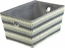 JVL Crochet Gemustert konisch Karton