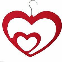 JVL Love Herz hohe Qualität Dünne Velvet Touch