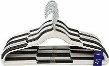 JVL Premium Range Kleiderbügel, Kunststoff,