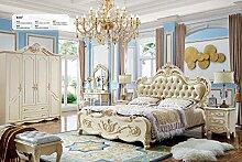 JVmoebel Bett Leder Polster Doppel Betten Luxus