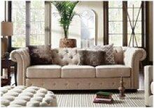 JVmoebel Chesterfield-Sofa, JVmoebel Chesterfield