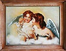 JVmoebel Engel Ölbild Bild Bilder Gemälde