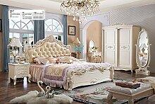 JVmoebel Klassisches Bett Barock Rokoko