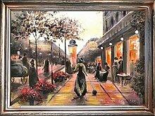 JVmoebel Ölbild Bilder Bild Gemälde Ölgemälde