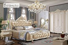 JVmoebel Wasser Luxus Designer Betten Chesterfield